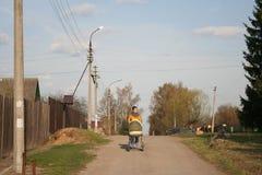 Caminhada na vila 2 Fotografia de Stock Royalty Free