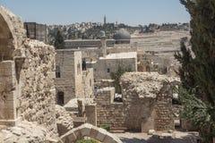 Caminhada no Jerusalém Imagem de Stock