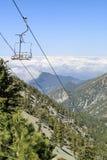 Caminhada no Mt Fuga de Baldy Foto de Stock