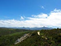 Caminhada no parque nacional de Tsitsikamma, África do Sul imagens de stock royalty free