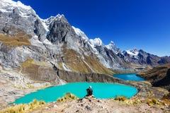 Caminhada no Peru foto de stock royalty free