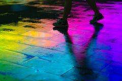 Caminhada VI do arco-íris fotografia de stock royalty free