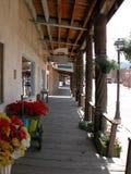 Caminhadas da placa de Taos Fotografia de Stock Royalty Free