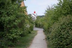 Caminhadas do país Foto de Stock Royalty Free