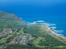 Caminhando em Oahu, Havaí, EUA imagens de stock royalty free