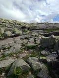 Caminhando Noruega Fotos de Stock Royalty Free