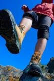 Caminhando o carregador Fotografia de Stock