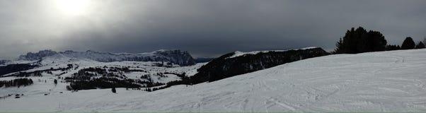 Caminhando o trajeto nos alpes julianos Imagens de Stock Royalty Free
