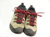 Caminhando sapatas Fotografia de Stock Royalty Free