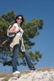 Caminhante Imagem de Stock Royalty Free