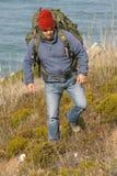 Caminhante/alpinista Imagens de Stock