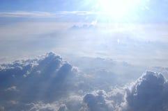 Caminhante da nuvem Fotografia de Stock Royalty Free