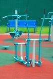 Caminhante do espaço e o outro equipamento de exercício Imagens de Stock Royalty Free
