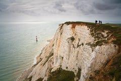Caminhantes na cabeça Beachy. Imagens de Stock Royalty Free