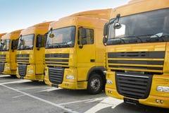 Caminhões Foto de Stock