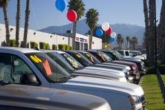 Caminhões novos Fotografia de Stock