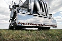 Caminhão americano Fotos de Stock Royalty Free