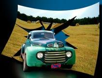 Caminhão antigo do vintage Imagem de Stock Royalty Free