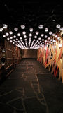 Caminho com iluminação fotos de stock royalty free