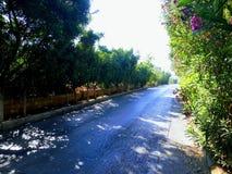 Caminho da estrada Fotografia de Stock