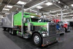 Caminhão da mostra de Peterbilt Fotos de Stock Royalty Free