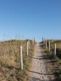 Caminho de acesso às dunas da praia Fotos de Stock Royalty Free