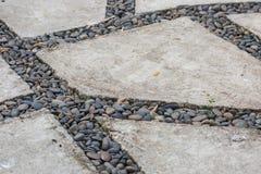 Caminho de pedra Fotos de Stock