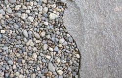Caminho de pedra da natureza do jardim Fotografia de Stock