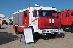 Caminhão de tanque do fogo Imagem de Stock