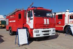 Caminhão de tanque do fogo Foto de Stock Royalty Free