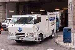 Caminhão do banco da armadura Foto de Stock