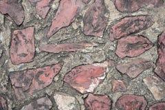 Caminho do bloco do cimento Imagem de Stock Royalty Free