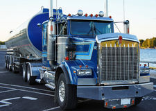 Caminhão do frete pronto Foto de Stock