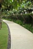 Caminho do jardim Fotos de Stock