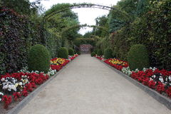 Caminho do jardim. Imagem de Stock Royalty Free