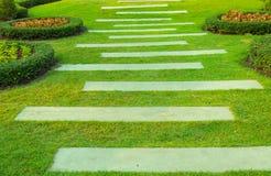 Caminho do jardim Fotografia de Stock Royalty Free