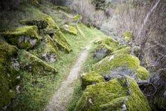 Caminho dos Moleiros, Castelo Novo, Portugalia Zdjęcia Royalty Free