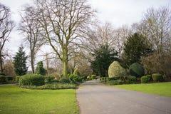 Caminho em um parque Foto de Stock