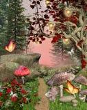 Caminho Enchanted Imagens de Stock