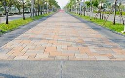 Caminho feito dos blocos de pedra imagens de stock royalty free