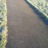 Caminho invernal Imagens de Stock