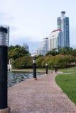 Caminho no parque Foto de Stock