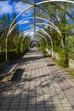 Caminho no parque dos jesuítas imagens de stock royalty free
