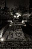 Caminho noturno Imagem de Stock