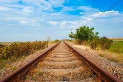 Caminhos de ferro Fotos de Stock