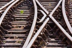 Caminhos de ferro Fotos de Stock Royalty Free