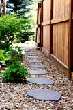 Caminhos do jardim fotografia de stock
