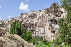 Camini leggiadramente Cappadocia Immagine Stock