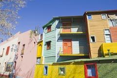 Caminito, заречье Boca Ла, Буэнос-Айрес, Аргентина стоковое изображение