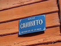 Caminito 免版税库存照片